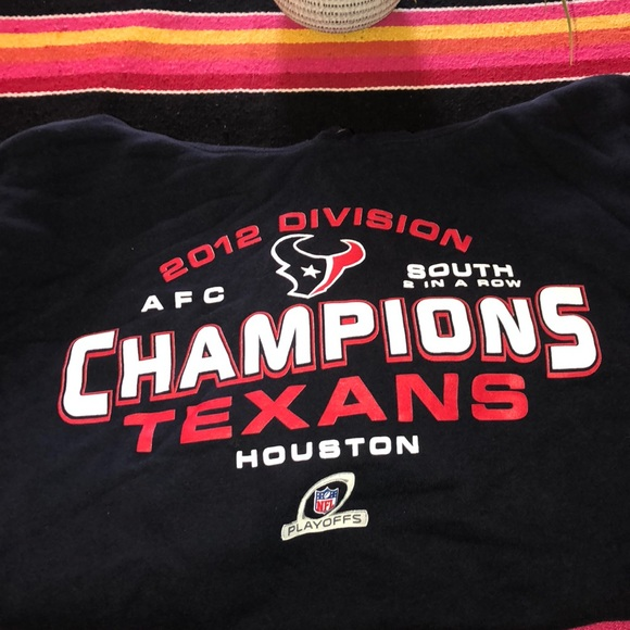 best loved 79cf9 755e4 NFL🏈 2012 division champions Texans Hoodie